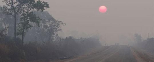 As dawn breaks over Anlong Veng