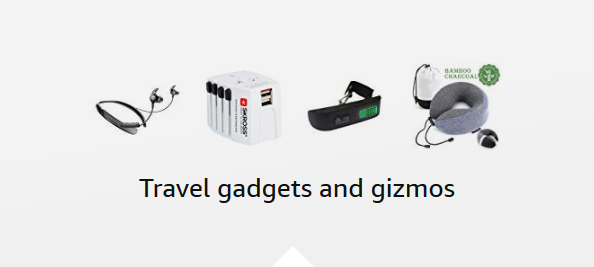 Travel gadgets and gizmos